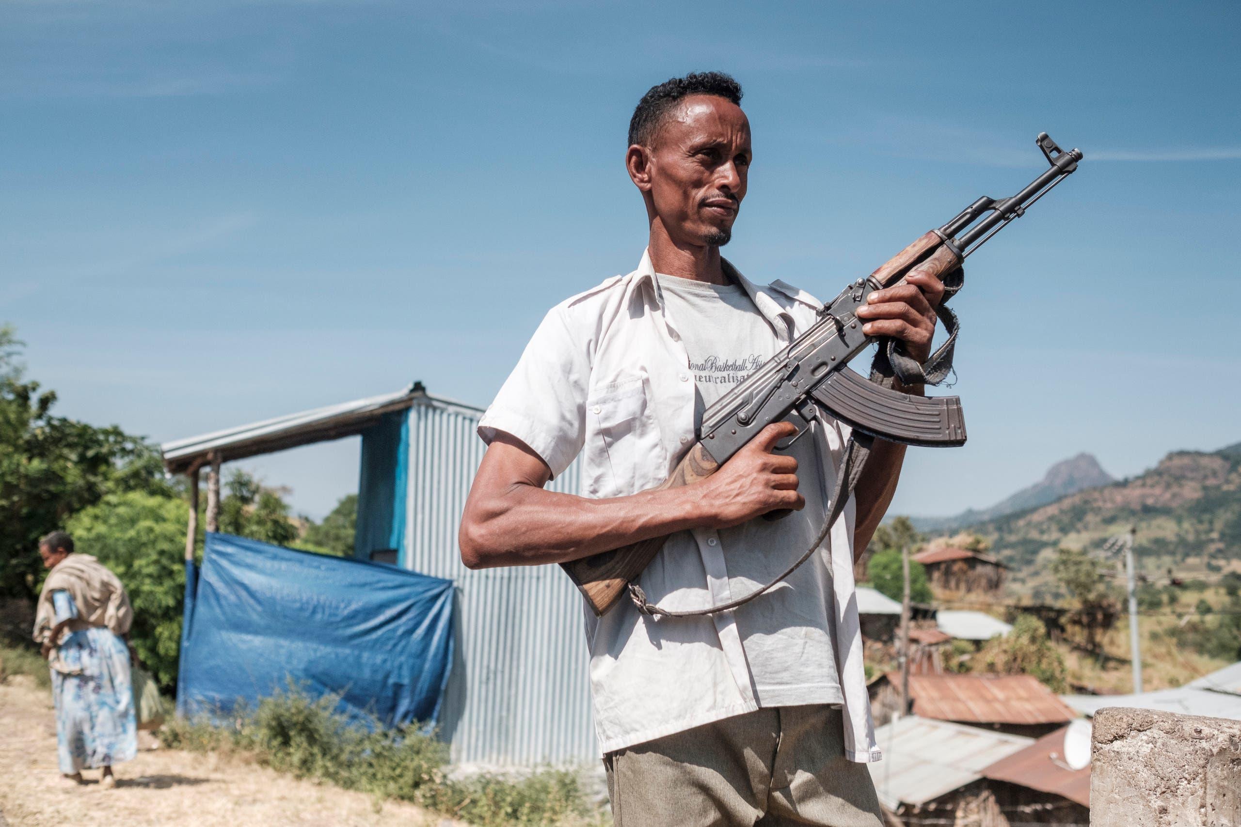 من إقليم تيغراي في إثيوبيا (أرشيفية- فرانس برس)