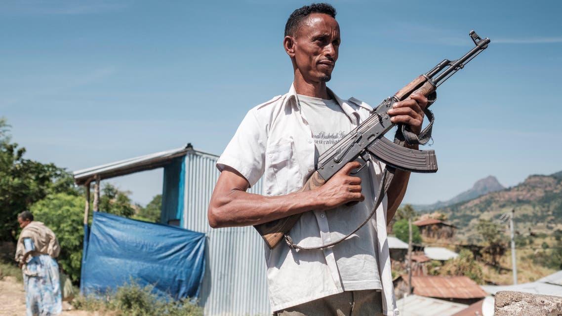 من إقليم تيجراي في إثيوبيا (أرشيفية- فرانس برس)