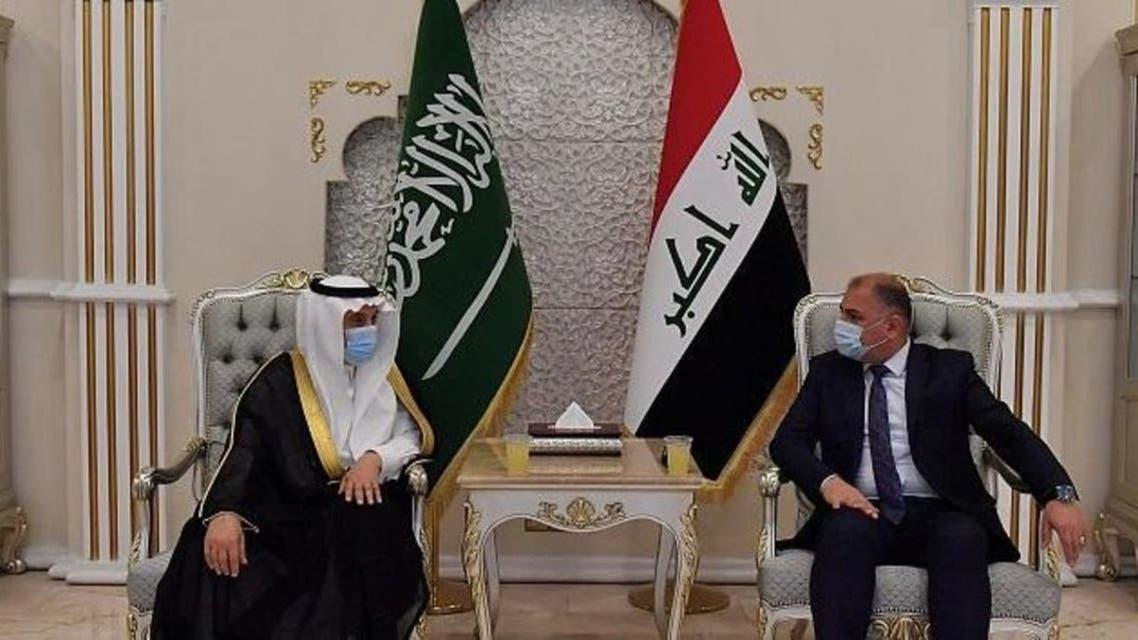 Saudi Delegation in Iraq