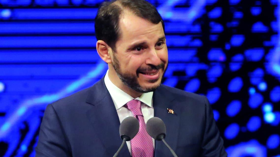 وزير المالية التركي المستقيل بيرات البيرق، صهر أردوغان(أرشيفية- فرانس برس9