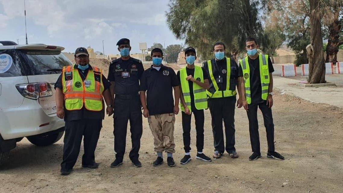 سعودی رضاکار