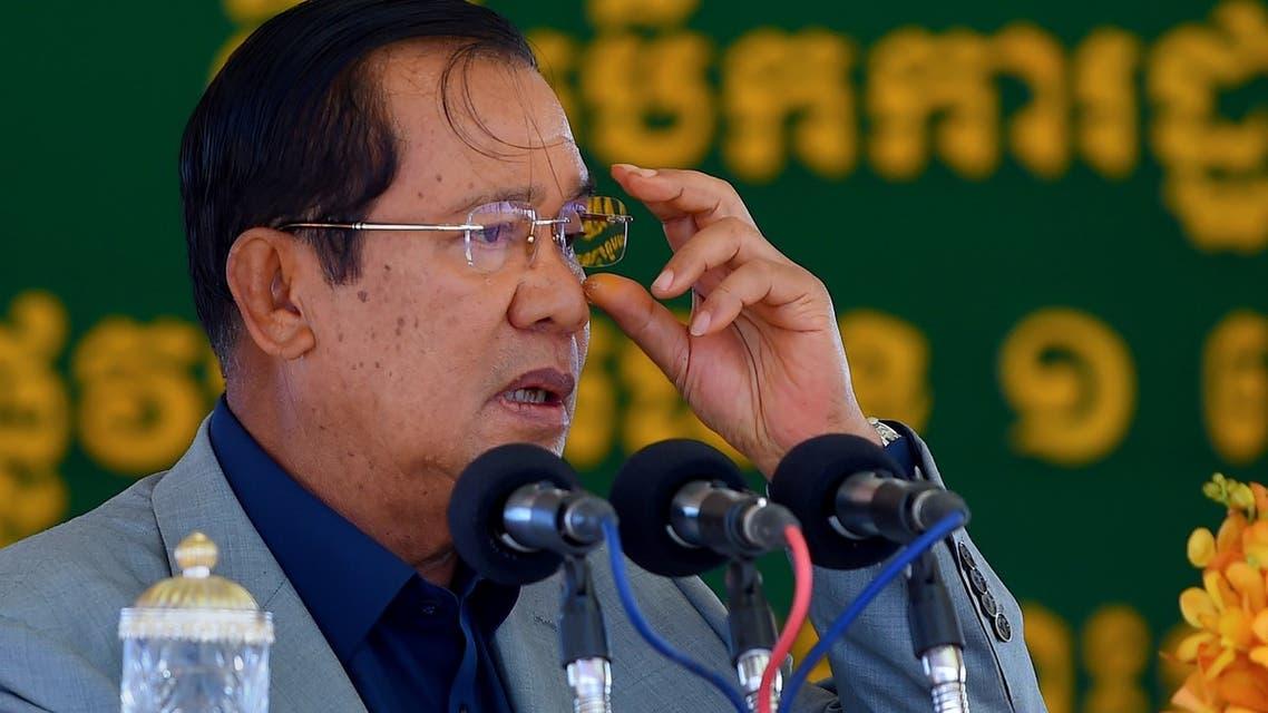 Cambodian Prime Minister Hun Sen AFP