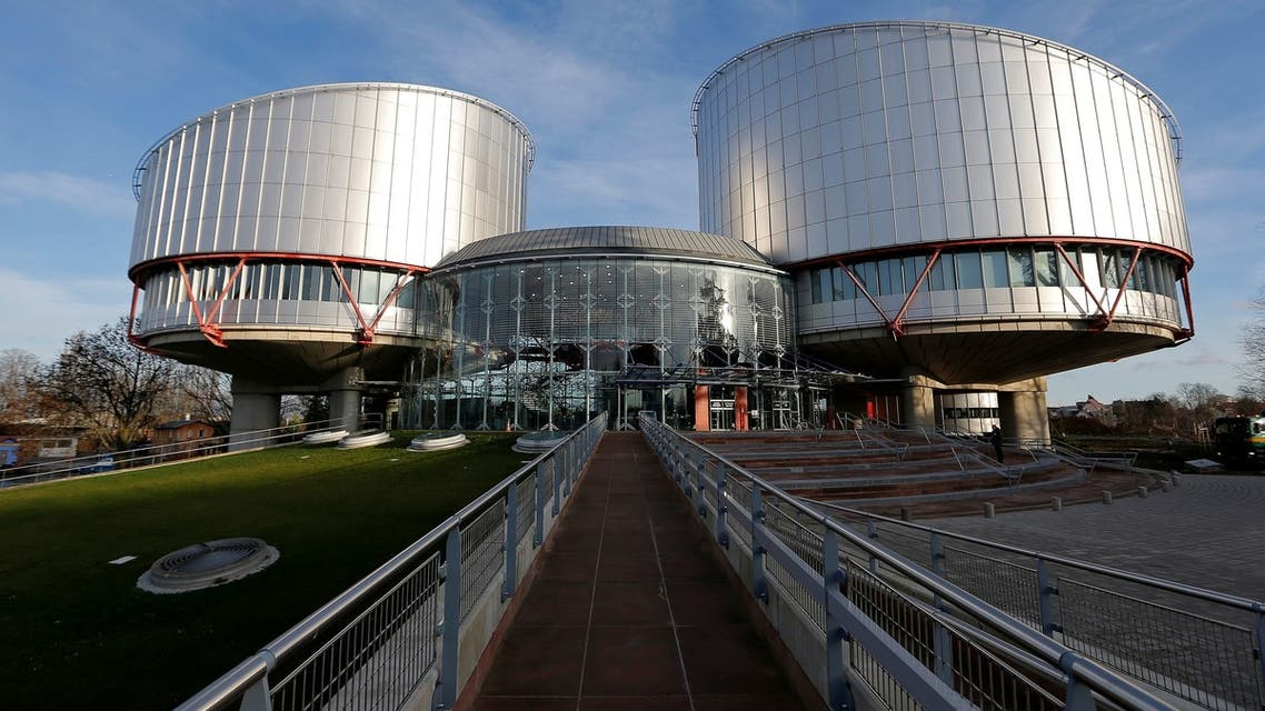 FILE PHOTO: The building of the European Court of Human Rights is seen during a hearing regarding the case of Russian opposition leader Alexei Navalny (not pictured) against Russia at the court in Strasbourg, France, January 24, 2018. REUTERS/Vincent Kessler/File Photo