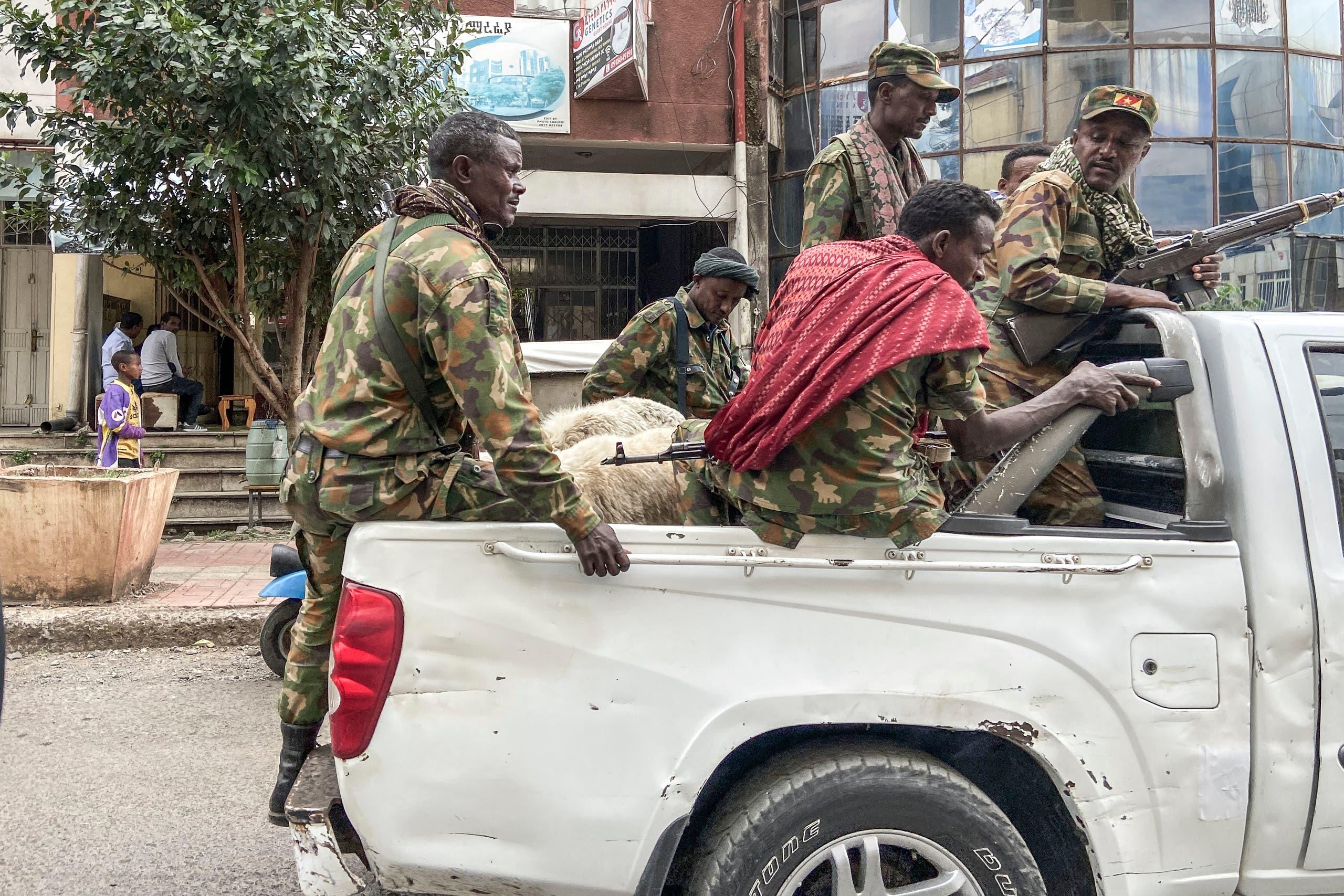 قوات من امهارا في إثيوبيا تتوجه للقتال ضد المتمردين في تيغراي