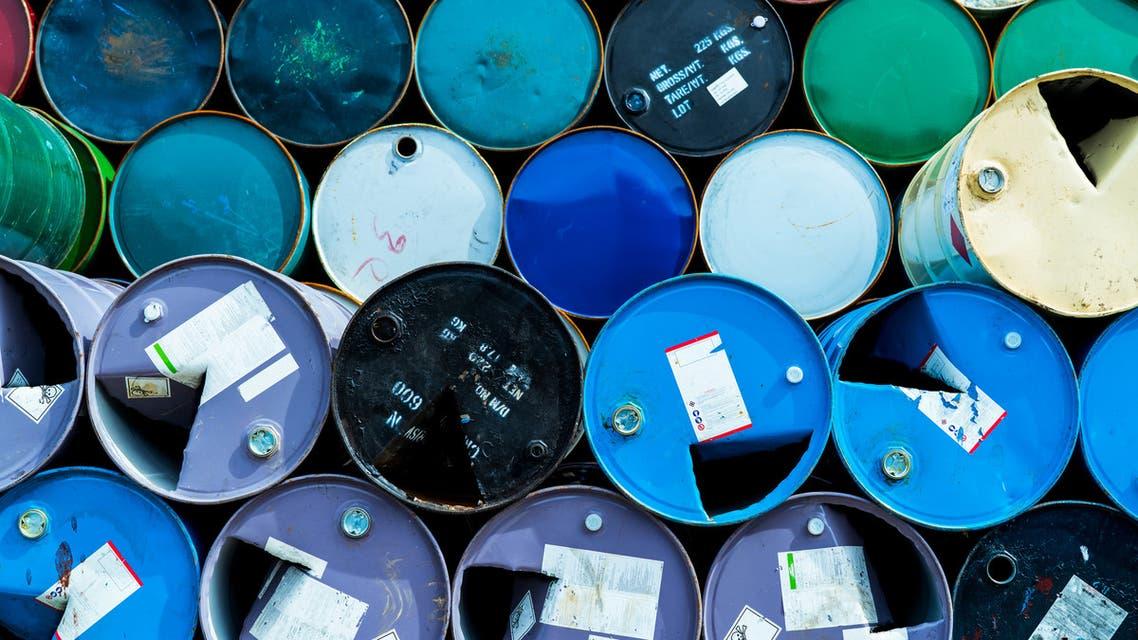 Stock photo of oil barrels. (File photo)