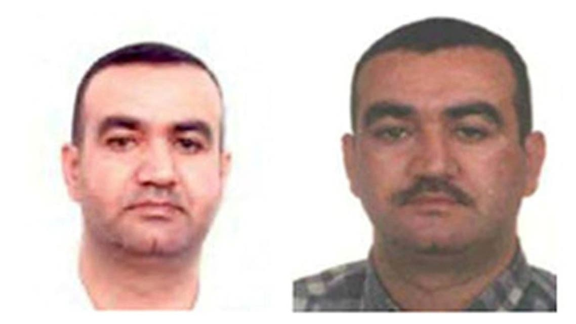 A combination picture of Salim Jamil Ayyash is shown in this undated handout picture released at the Special Tribunal for Lebanon website July 29, 2011. (Reuters/Special Tribunal for Lebanon)