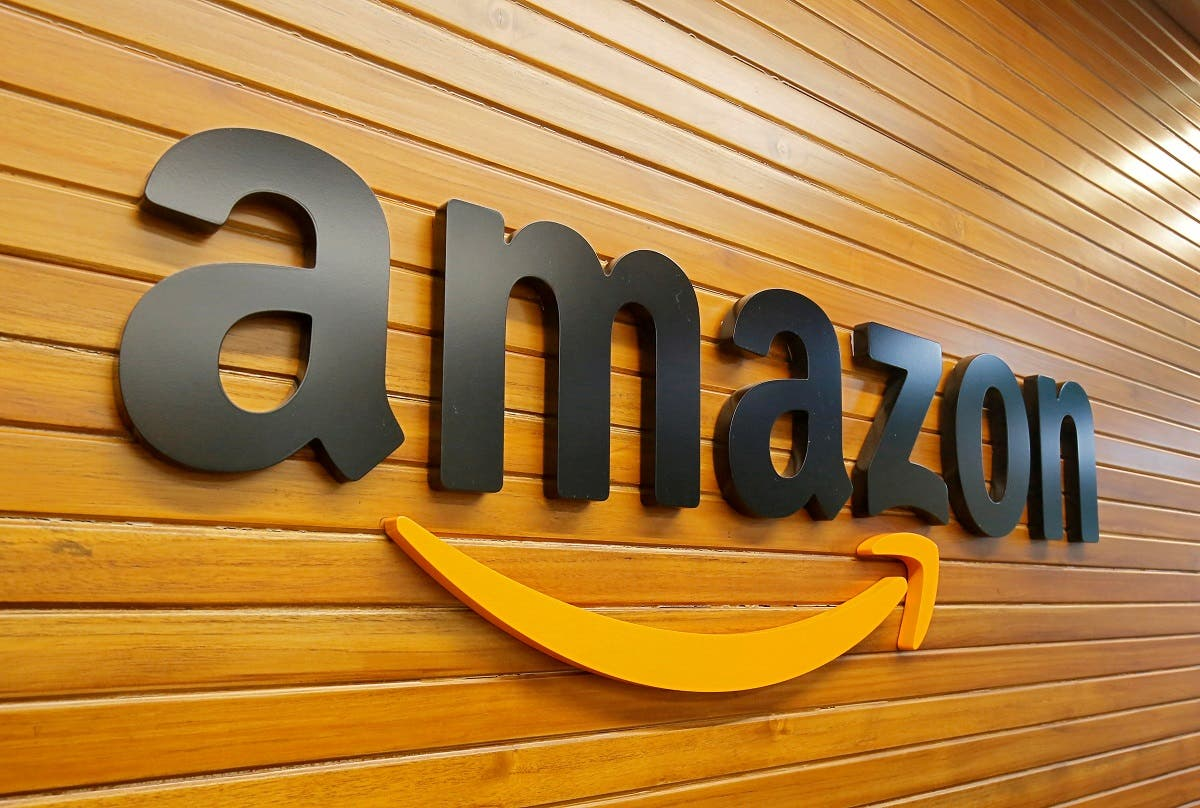 The logo of Amazon is pictured inside the company's office in Bengaluru, India. (File photo: Reuters)