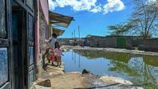 Flooding due to torrential rain displaces people around Kenya's Lake Naivasha
