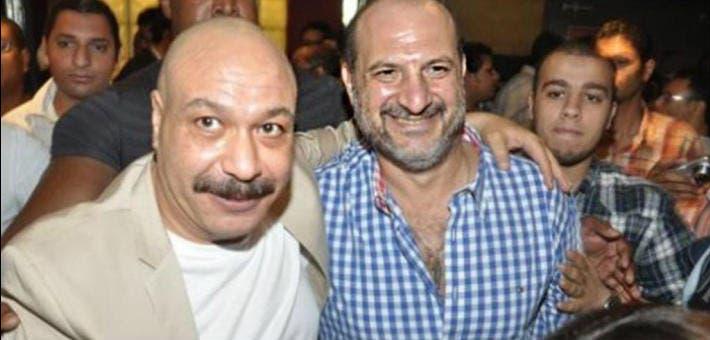 خالد الصاوي والنجم الراحل خالد صالح