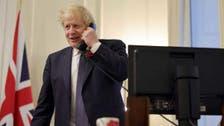 "جونسون يمتدح بايدن.. ويصف ترمب بـ""الرئيس السابق"""