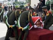 جنازة عسكرية لكبير المفاوضين الفلسطينيين صائب عريقات