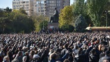 Thousands in Armenia demand PM quit over ceasefire deal with Azerbaijan, Russia