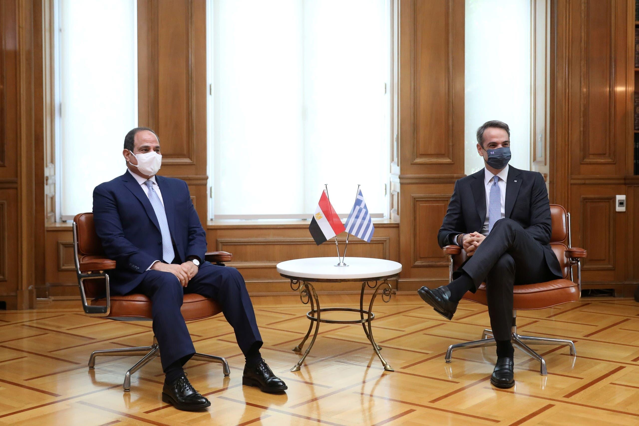 من اجتماع ميتسوتاكيس بالسيسي اليوم في اثينا