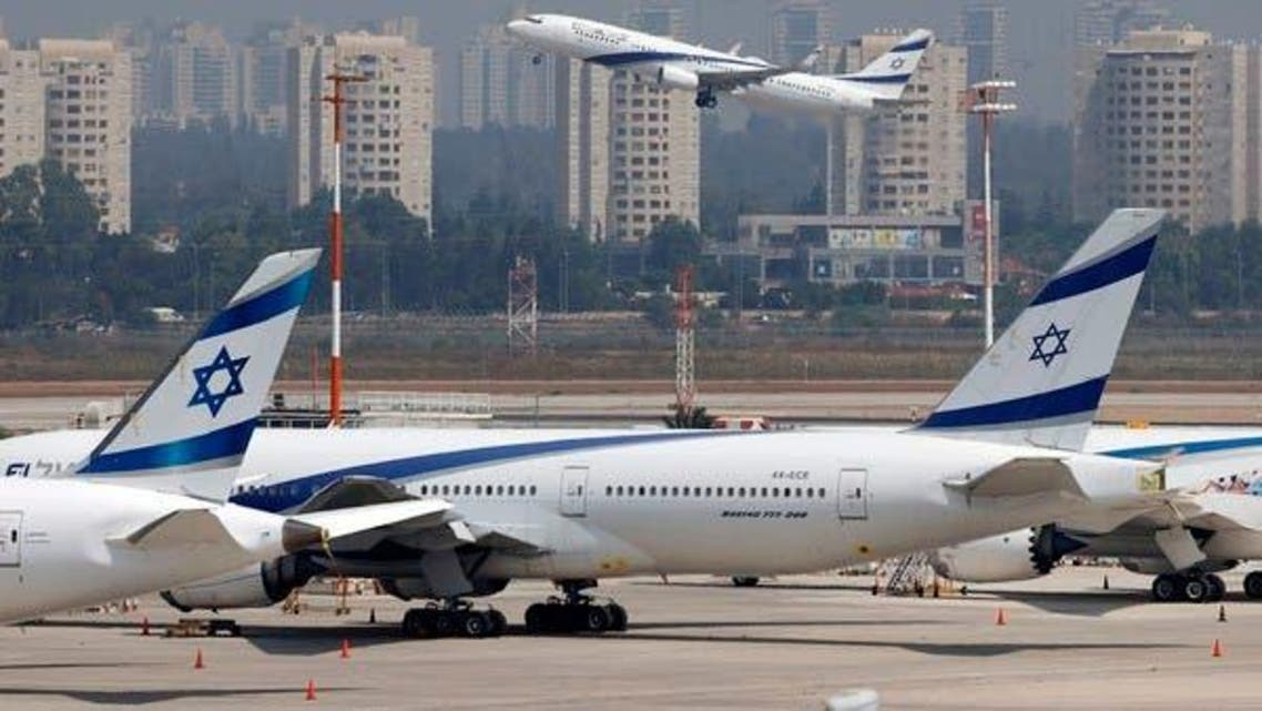 Israeli  El Al's airliner