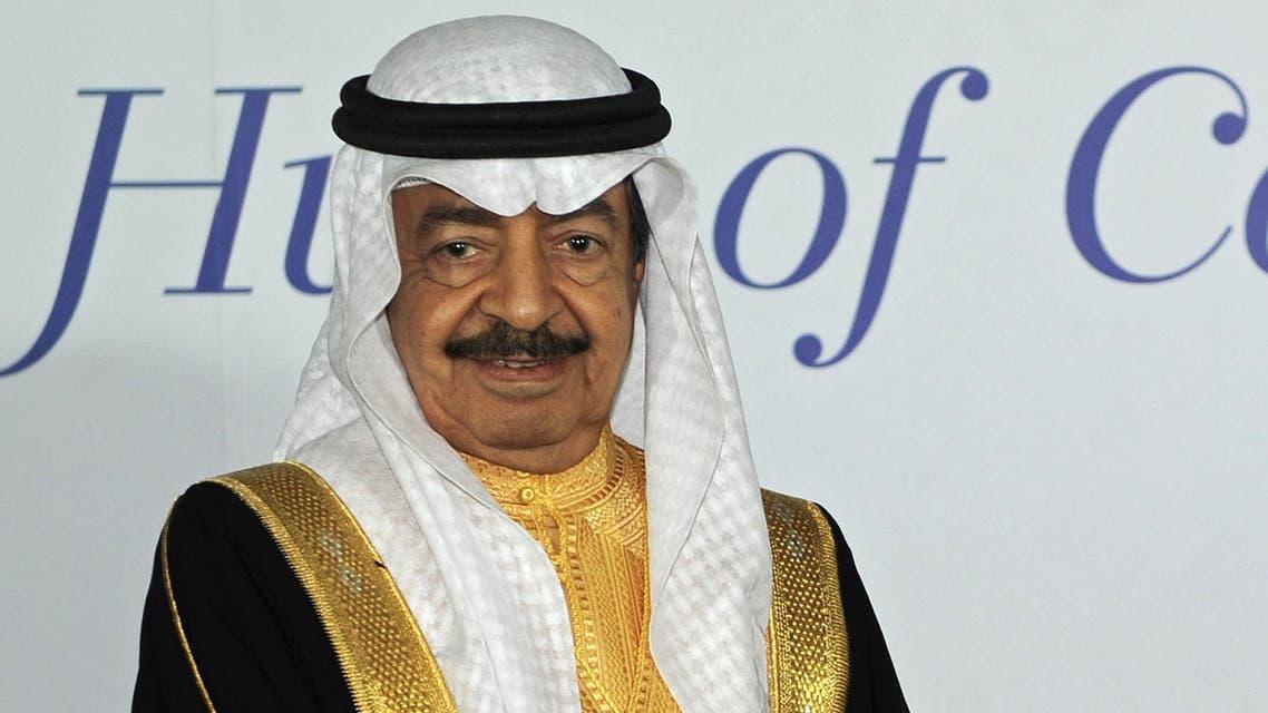 Bahrain's Prince Khalifa bin Salman Al Khalifa. (File photo: AFP)