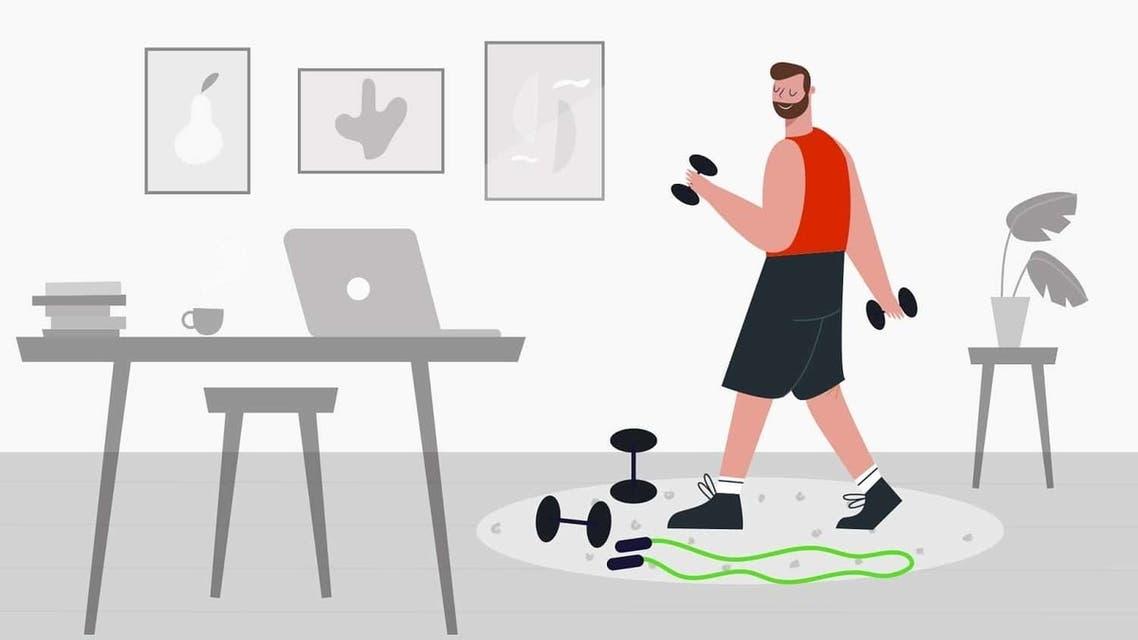 5 من أفضل تطبيقات ممارسة الرياضة بالمنزل لعام 2020