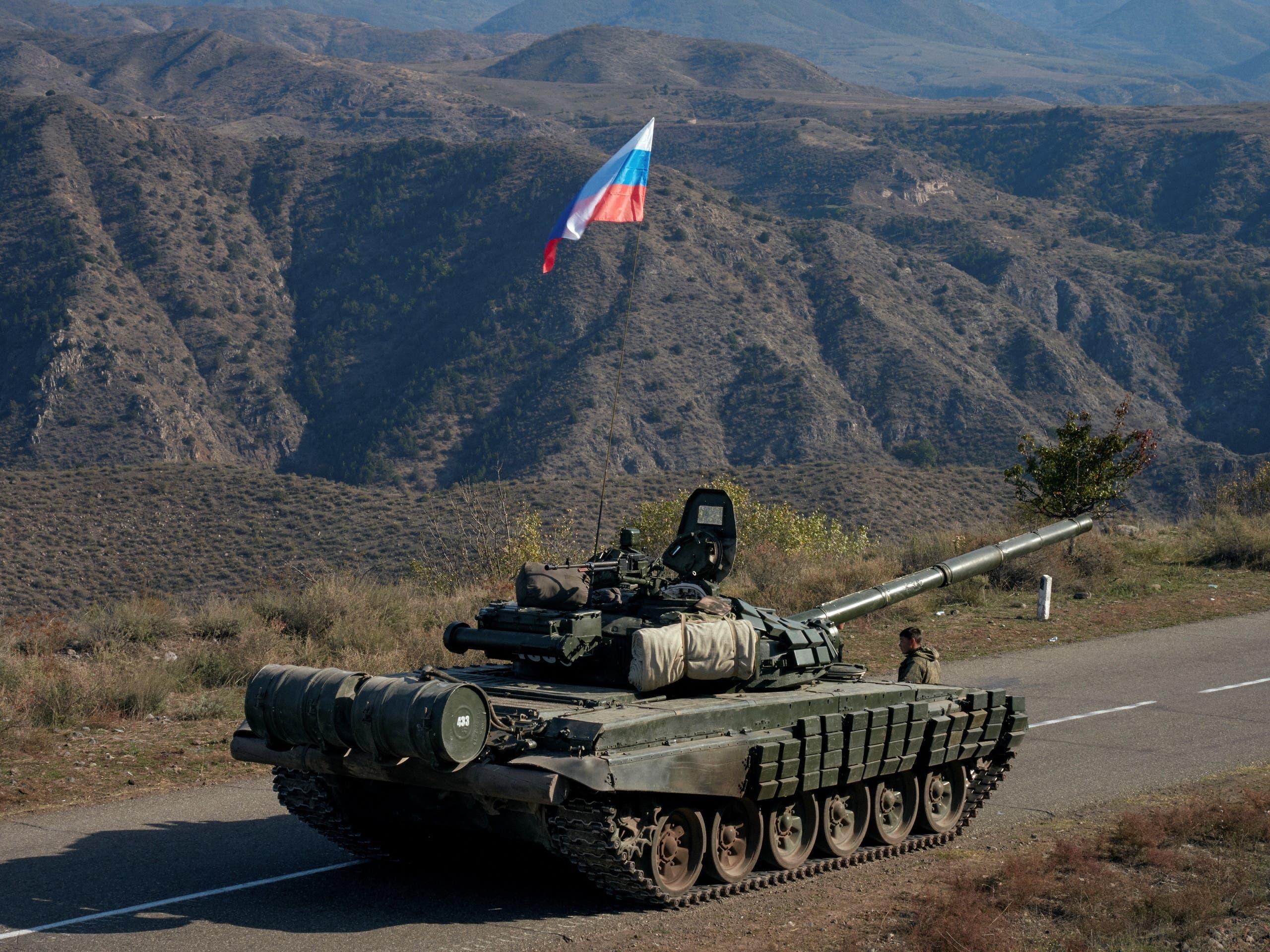من قوات روسية في كاراباخ