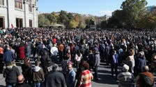 Armenian protesters rallying against Nagorno-Karabakh ceasefire deal arrested
