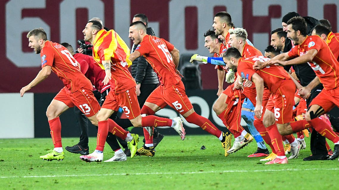 المخضرم بانديف يقود مقدونيا الشمالية إلى كأس أوروبا