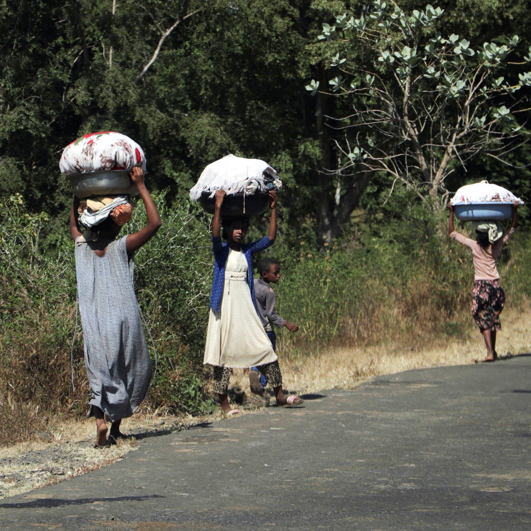نصفهم أطفال.. 11 ألفاً فروا من إثيوبيا إلى السودان