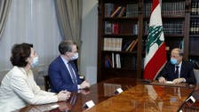 Macron envoy Durel meets Lebanese officials to save French rescue plan