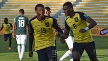 """بوليفيا تهدر فرصة """"النقطة الأولى"""" وتخسر أمام الإكوادور"""