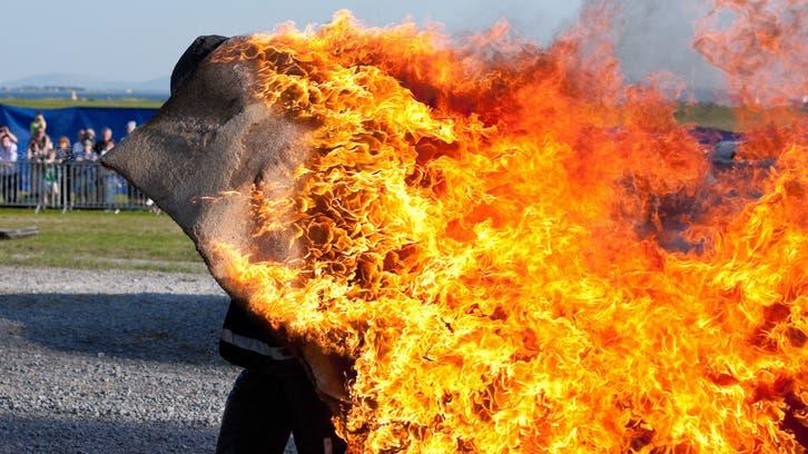 حرق زوجته ورماها بالنهر فظهرت حية..قصة بابل تشغل العراق
