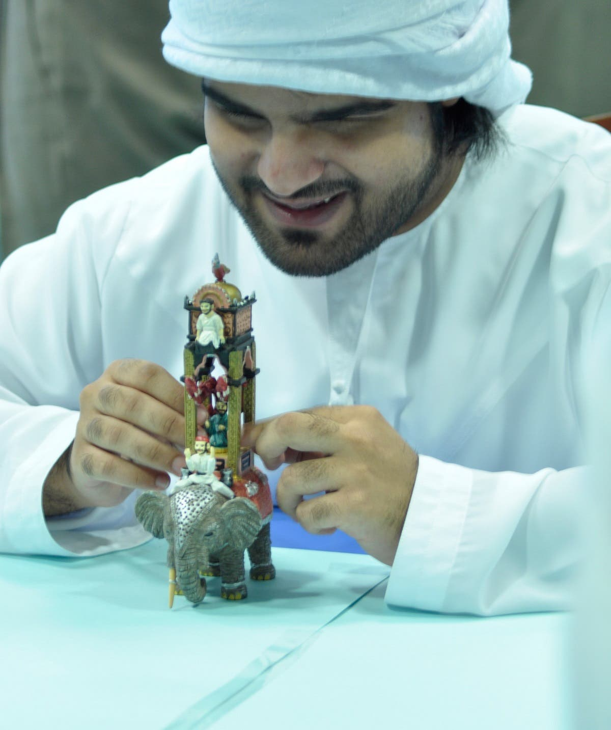 Programs for the visually impaired at a Sharjah museum. (Courtesy: SMA)