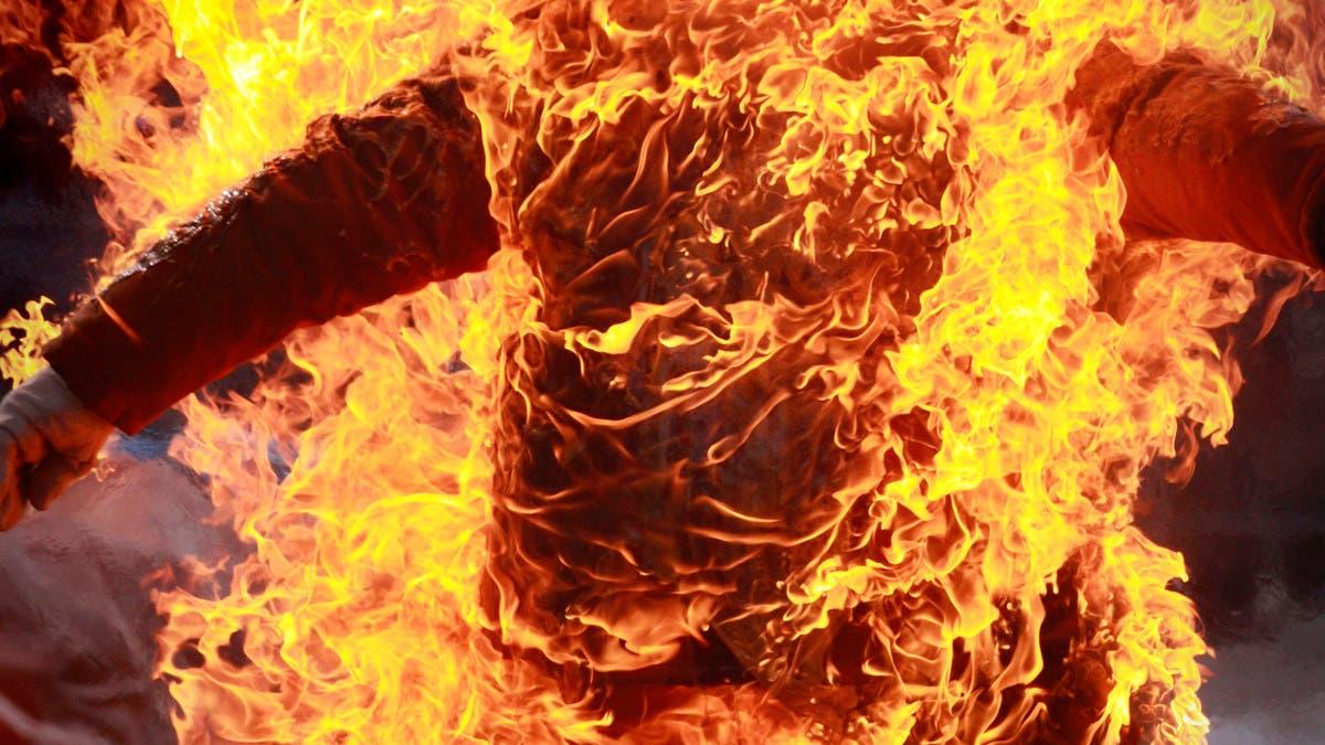 حريق يشب في مستشفى لمصابي كورونا بمصر.. والنار تخنق 7