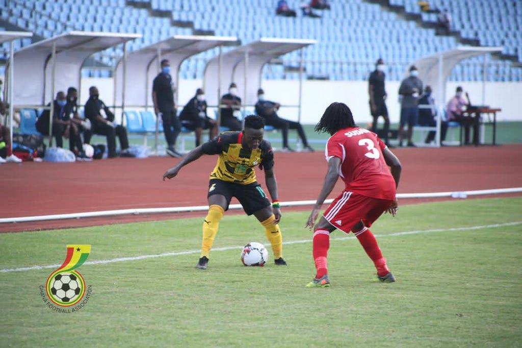 أوسو لاعب الأهلي شارك يوم الخميس في مباراة غانا والسودان