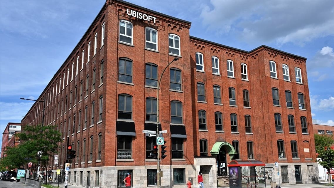 French videogame giant Ubisoft's Montreal office is seen on July 18, 2020 in Quebec, Canada. (AFP)