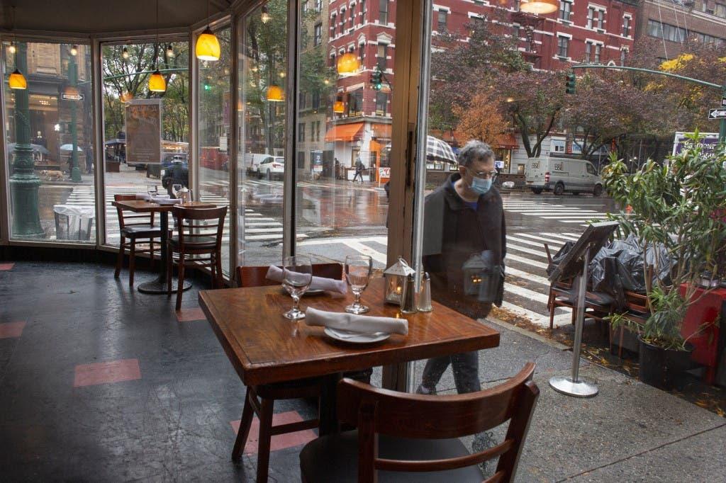 من أحد مطاعم نيويورك - فرانس برس
