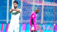 صالح الشهري يهز الشباك في ظهوره الدولي الأول