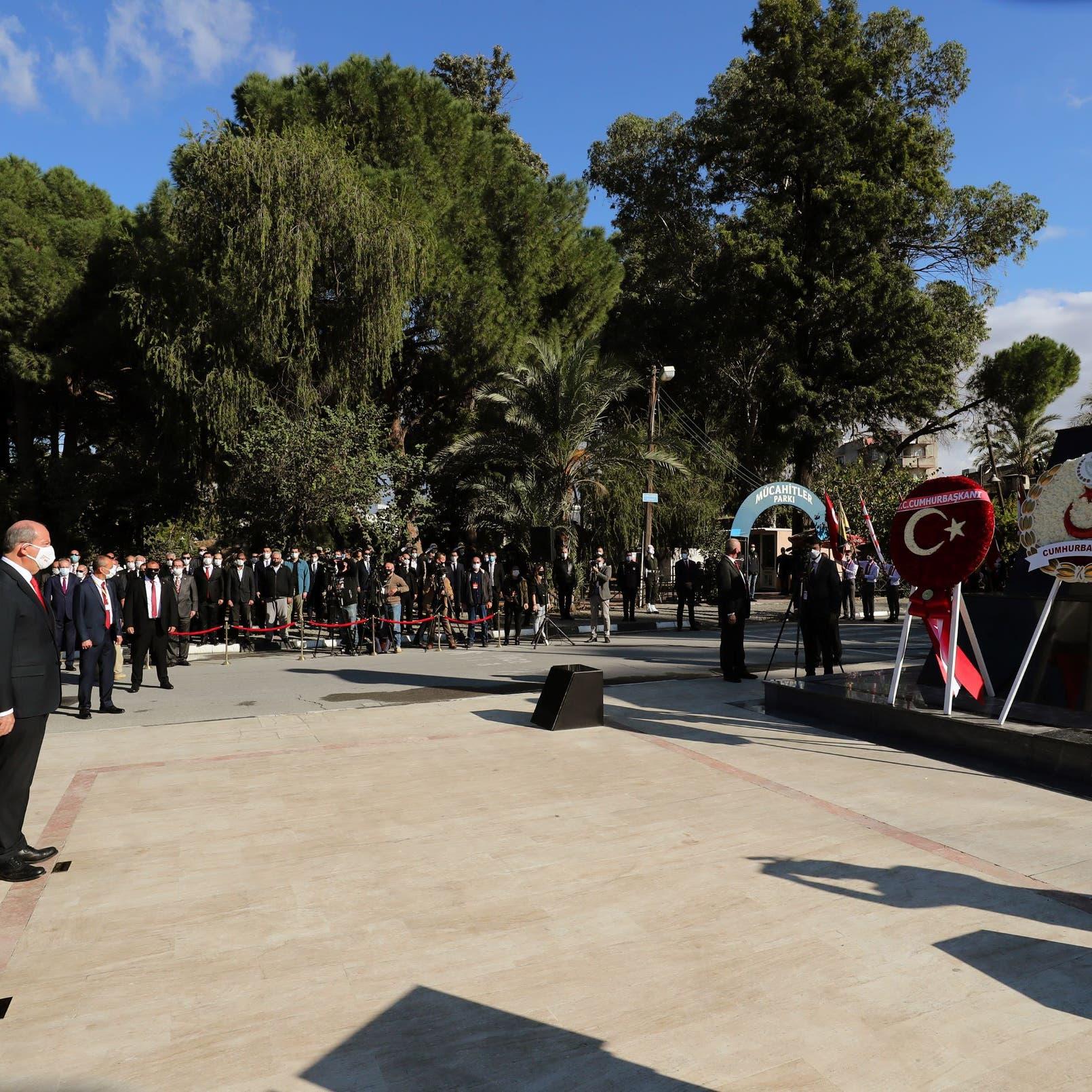 """أردوغان يرفض توحيد القبرصيتين.. ونيقوسيا: """"زيارة استفزازية"""""""
