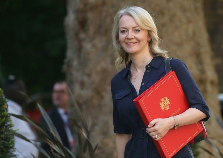 وزيرة التجارة الدولية في بريطانيا ليز تراس