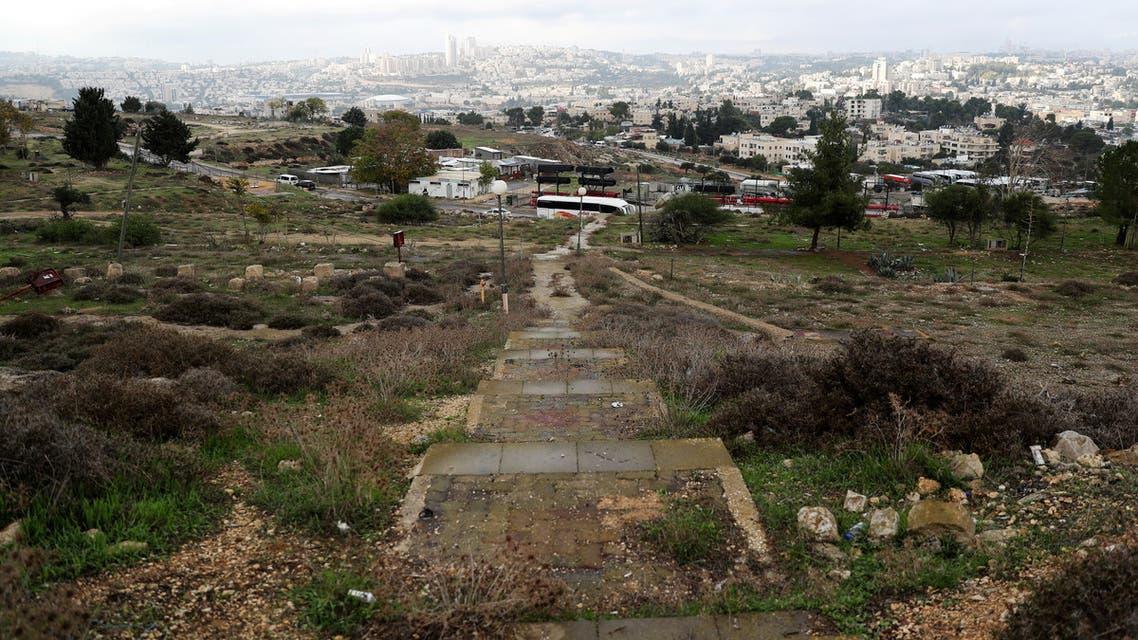 A general view picture shows part of Givat Hamatos, an area near East Jerusalem November 15, 2020. REUTERS/Ronen Zvulun