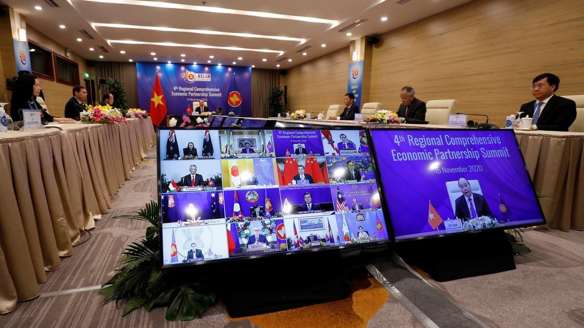 ASEAN Summit in Hanoi. (Reuters)
