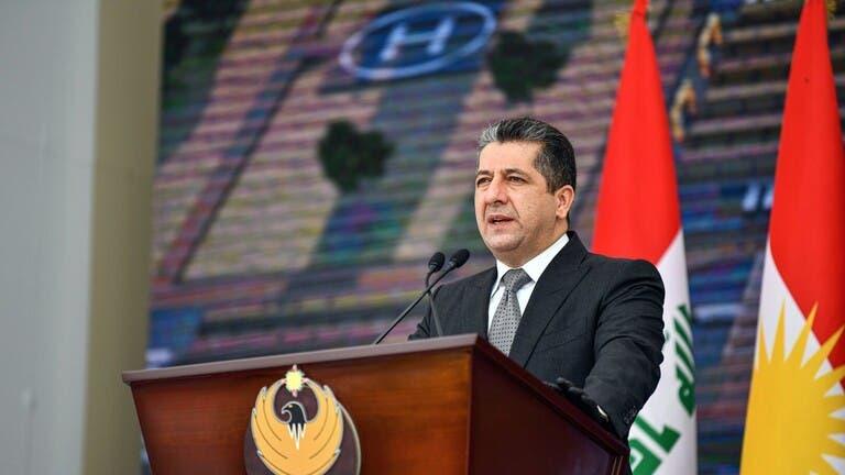 رئيس حكومة إقليم كردستان مسرور بارزاني