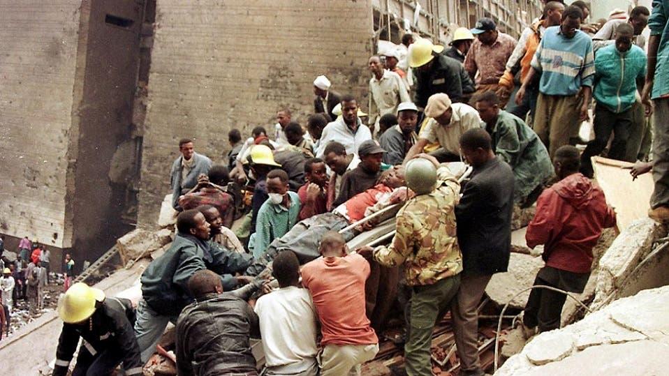 تفجير السفارة بنيروبي قتل 213 شخصا