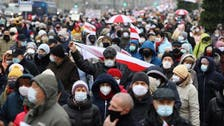 Over 180 detained in Belarus during anti-government protests