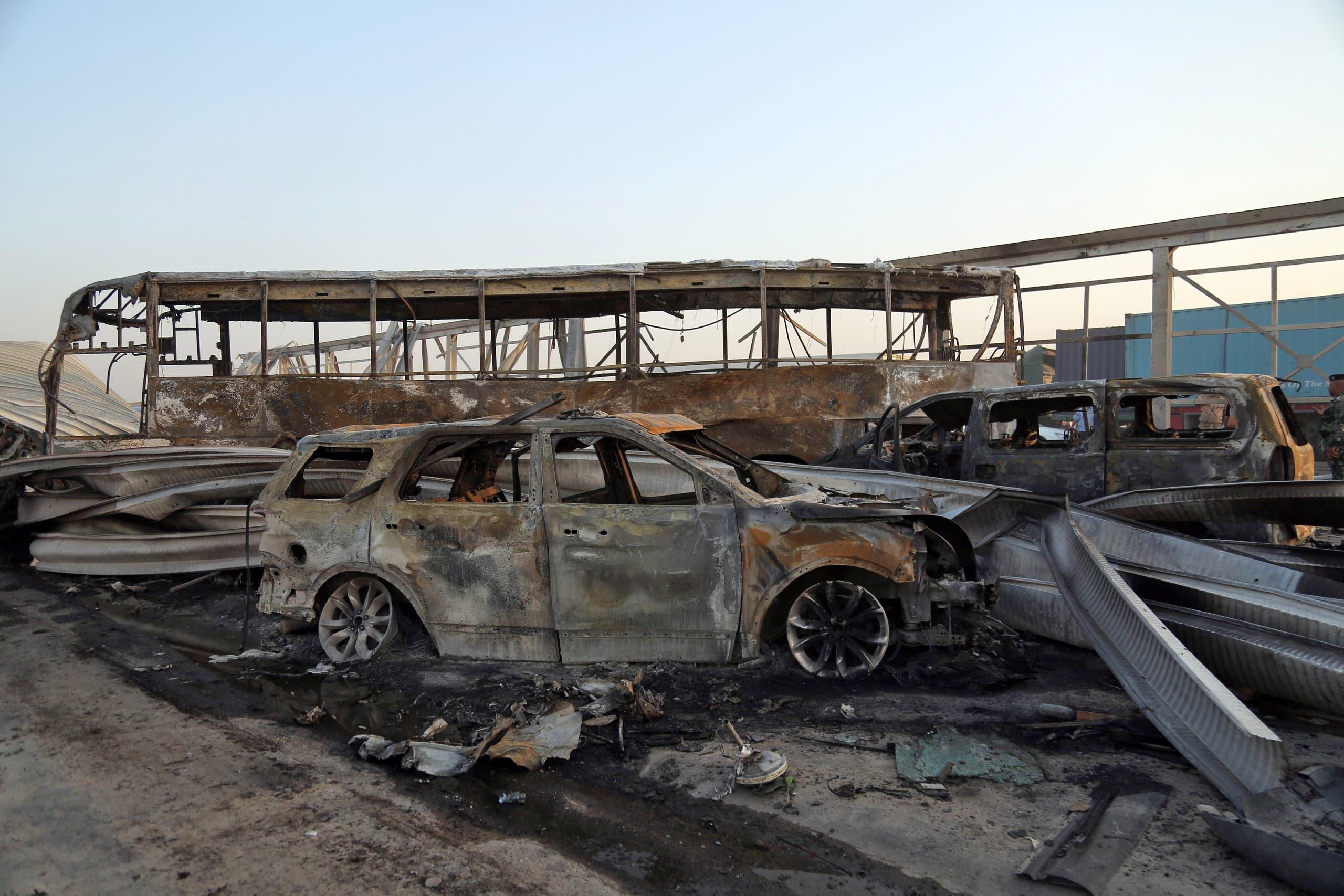 عملية إرهابية لداعش في الناصرية في سبتمبر 2017
