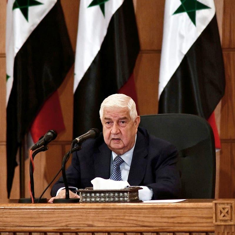 وفاة وزير خارجية النظام السوري وليد المعلم عن 79 عاماً