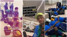 """الاتحاد الإفريقي يغرم أوباميانغ بسبب """"صورة المطار"""""""