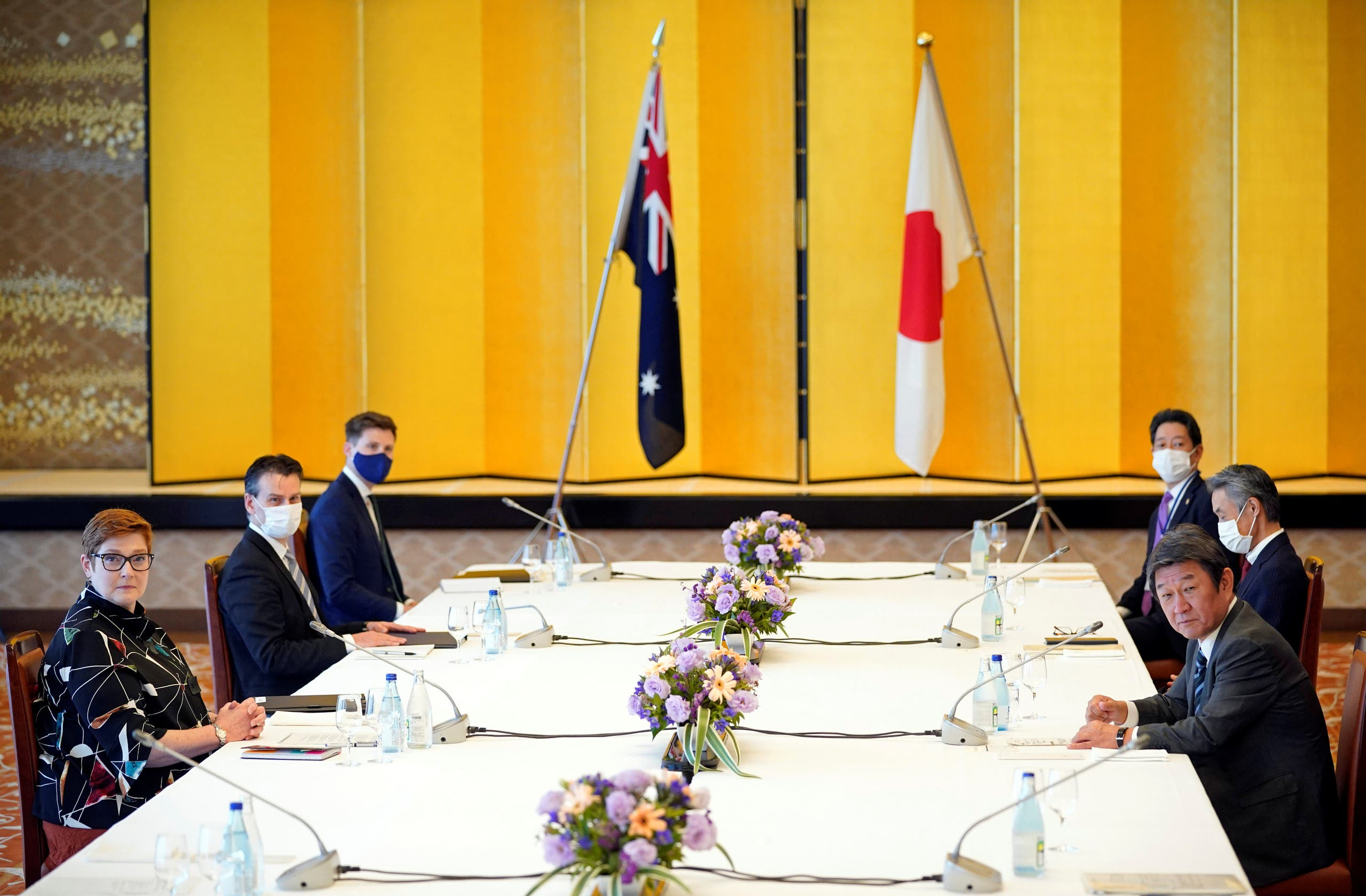 محادثات عسكرية بين البلدين في طوكيو بأكتوبر الماضي