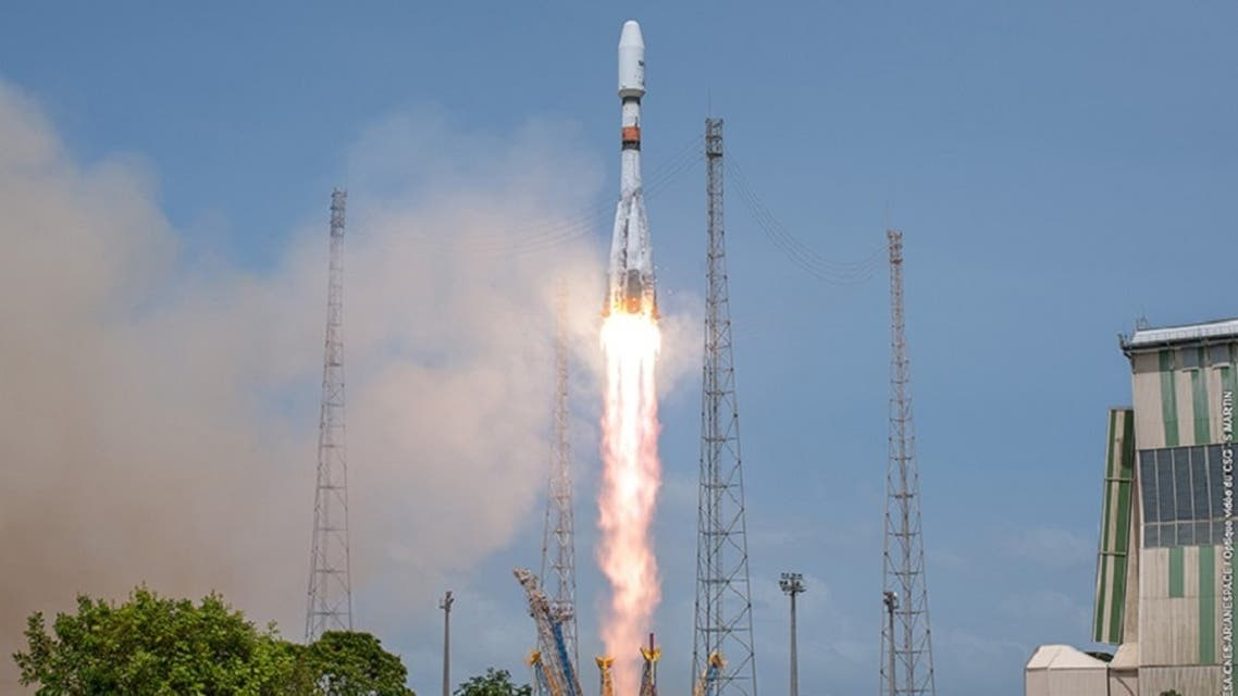 File photo of a rocket launch by the European Space Agency (ESA) from the European space center at Kourou, French Guiana. (AFP)