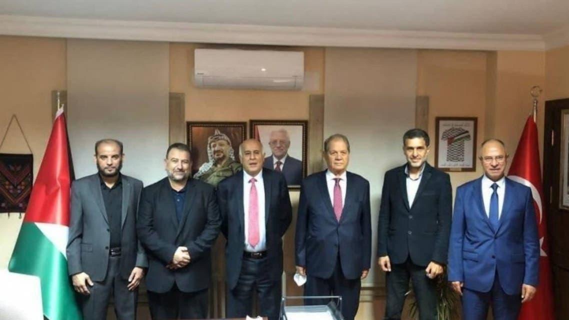 Egypt: Hamas and Fatah Movement meeting