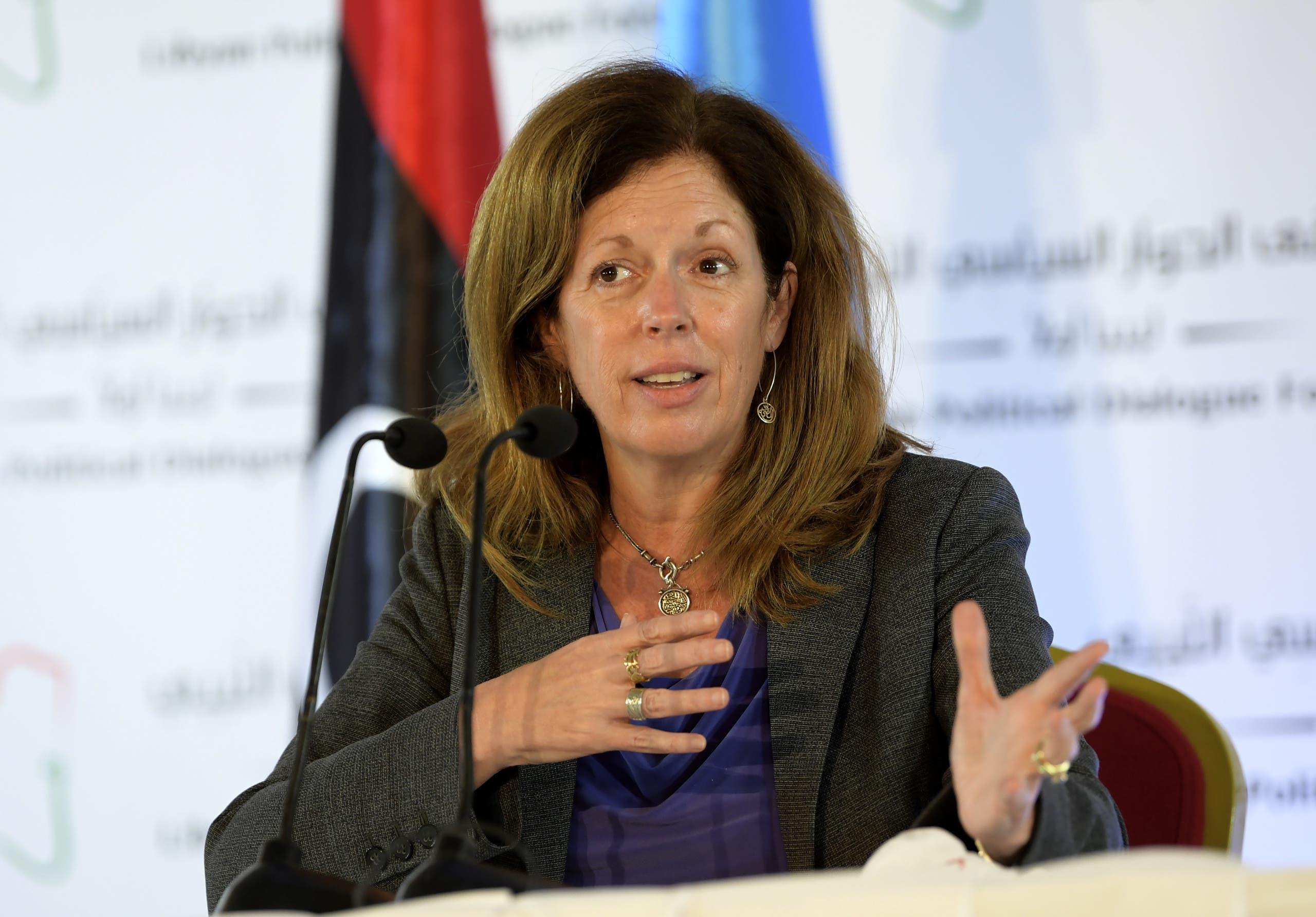 ستيفاني ويليامز، مبعوثة الأمم المتحدة بالإنابة إلى ليبيا