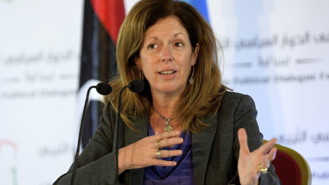 ستيفاني ويليامز، مبعوثة الأمم المتحدة بالإنابة إلى ليبيا(فرانس برس)