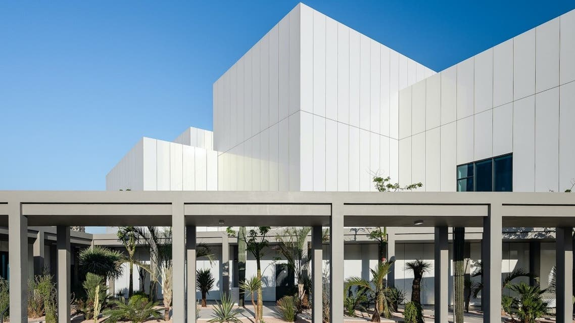 The Jameel Arts Centre building in Dubai is punctuated by seven gardens, designed by landscape architect Anouk Vogel, which reflect local and global desert biomes. (Photo by Mohamed Somji)