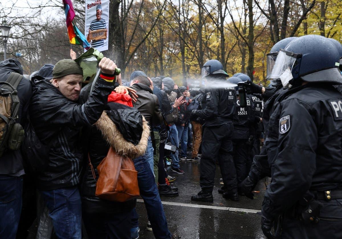 تظاهرات في برلين